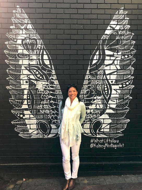 Kelsey Montague Art Wings in Old Biscuit Mill Cape Town