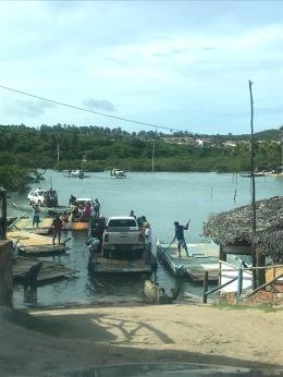 Balsa Sibaúma Barra do Cunhaú Pipa