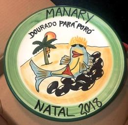Prato da Boa Lembrança Dourado Pará Poró do restaurante Manary Natal RN
